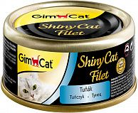 GimCat ShinyCat Filet консервы для кошек из тунца